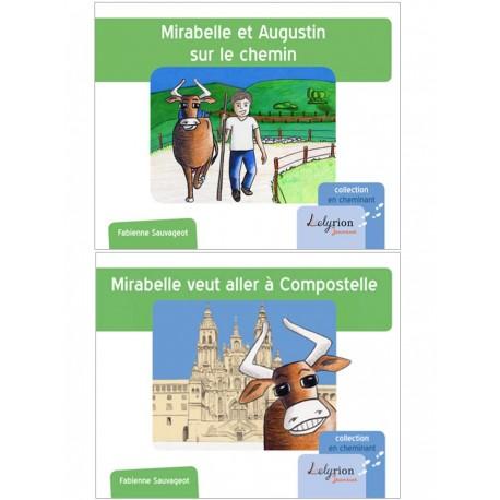 2 albums : Mirabelle veut ... et Mirabelle et Augustin *prix réduit*